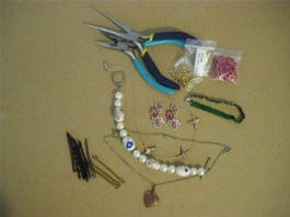 Hair jewelry supplies